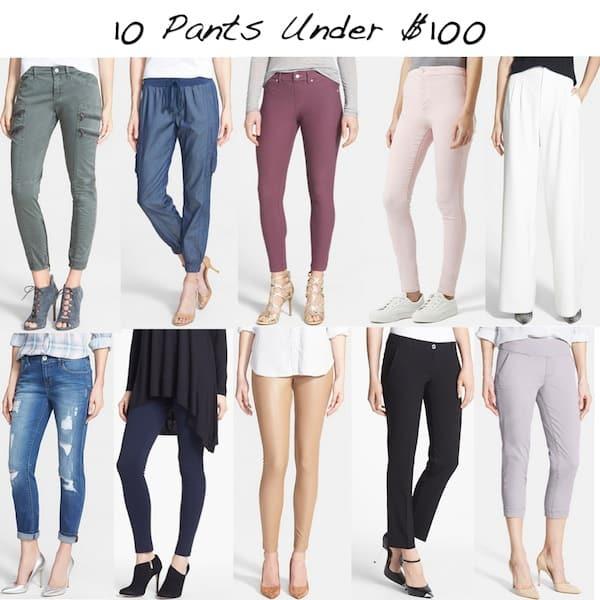 10 Pants Under $100