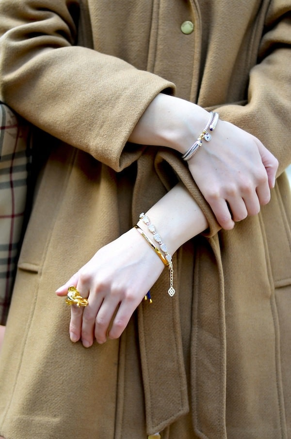Delicate Gold Jewelry