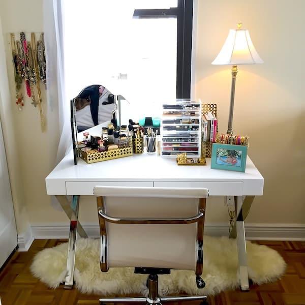 Katie's Bliss Desk and Vanity