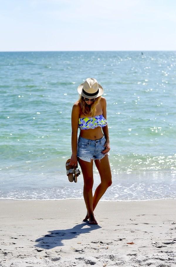 Zinke Reese Bandeau Bikini