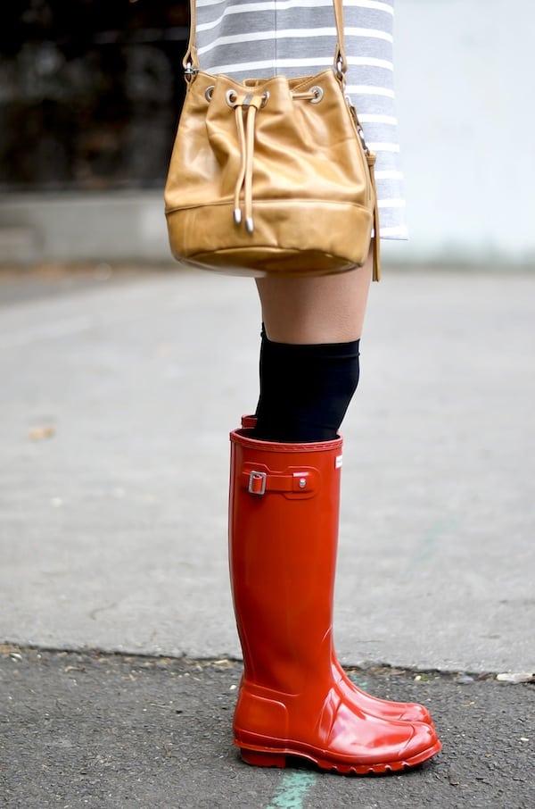 Hunter Tall Red Rain Boots