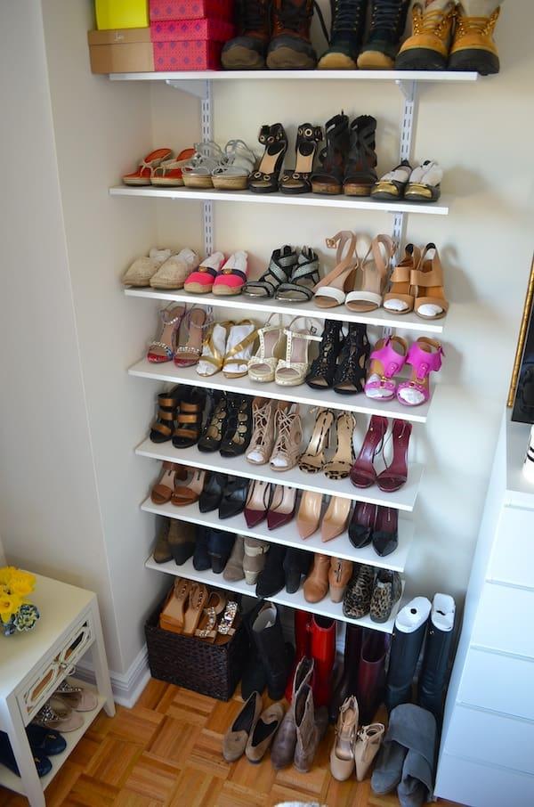 Shoe Wall & Organization