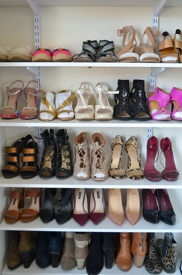 Shoe Wall & Organization