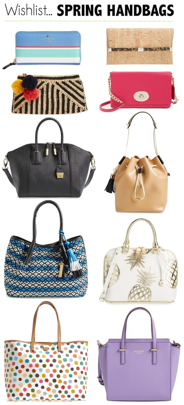 Katies Bliss Spring 2015 Handbag Wishlist