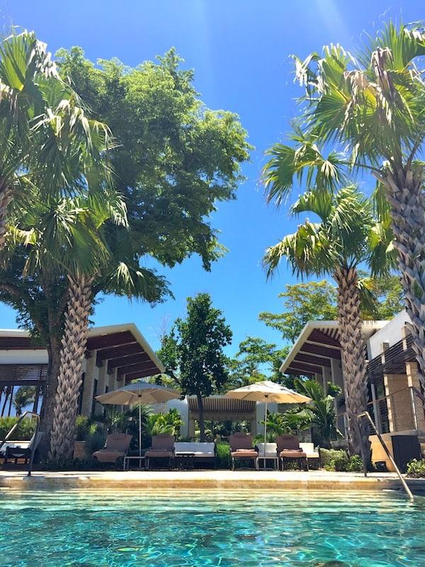 Infinity Pool at Ritz Carlton Dorado Beach
