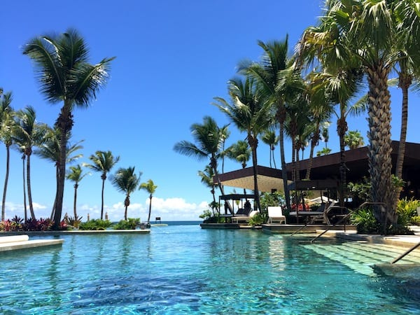 Infinity Pool at Ritz Carlton Dorado Beach