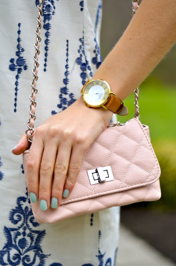 Kate Spade Metro Grand Leather Strap Watch
