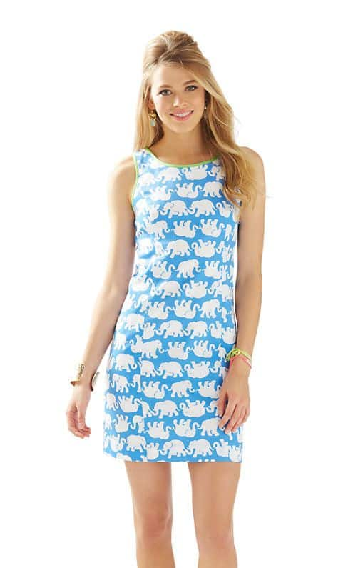 Lilly Pulitzer Tusk in Sun Cathy Shift Dress