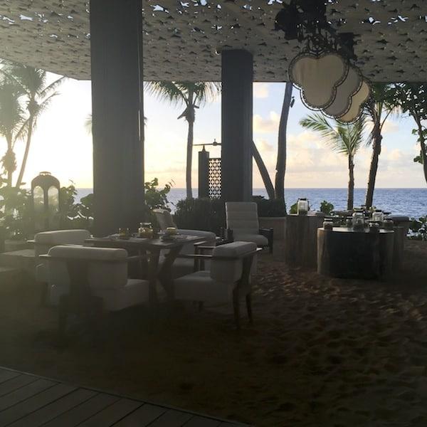 Positivo Sand Bar Ritz Carlton Dorado Beach