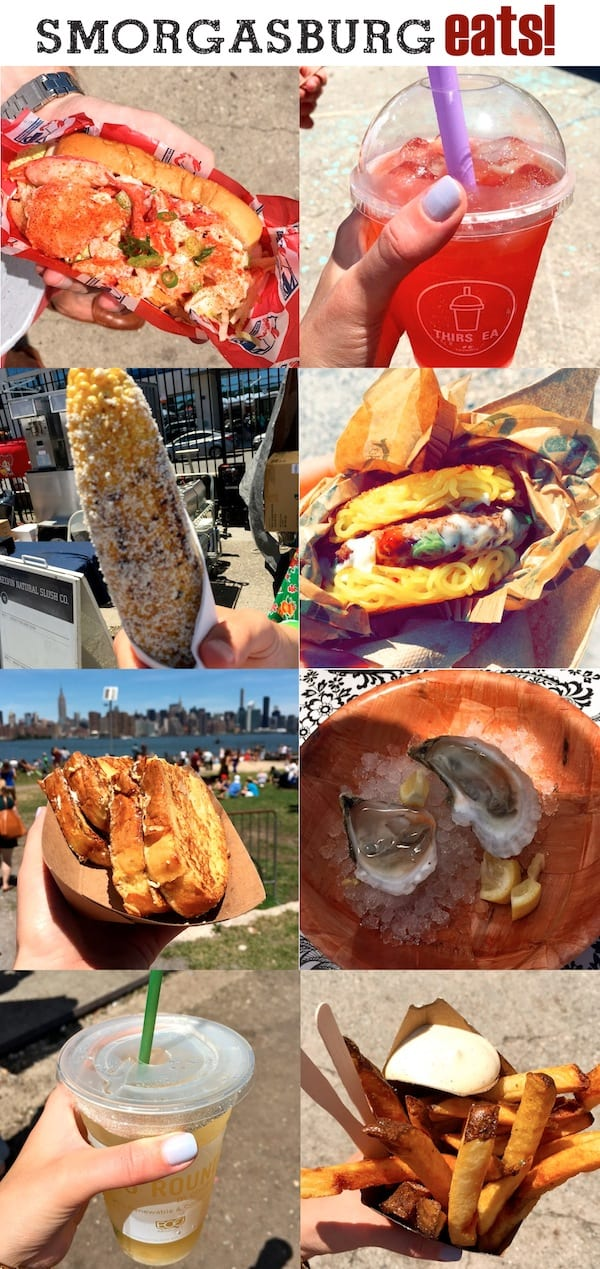Brooklyn Smorgasburg Food Crawl