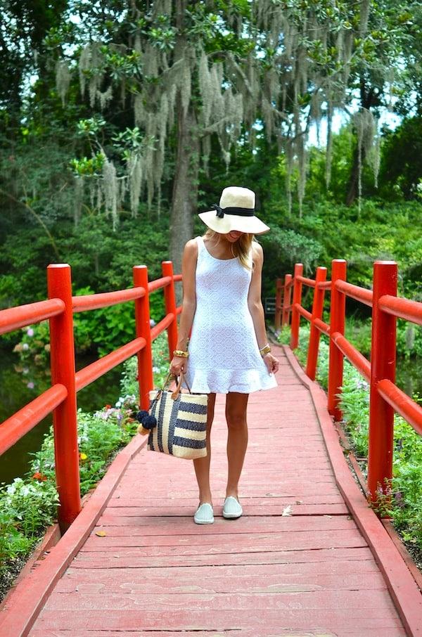 Lilly Pulitzer Crochet White Dress