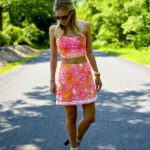 Lilly Pulitzer Crop Top Skirt Set_4
