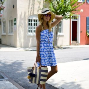 Lilly Pulitzer Elephant Print Dress