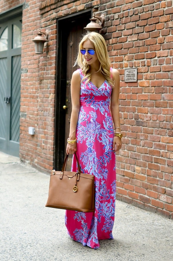 Lilly Pulitzer Maxi Dress   4th of July Sales - Katie's Bliss