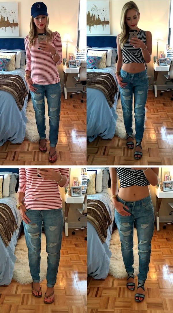 Target Denim Distressed Jeans