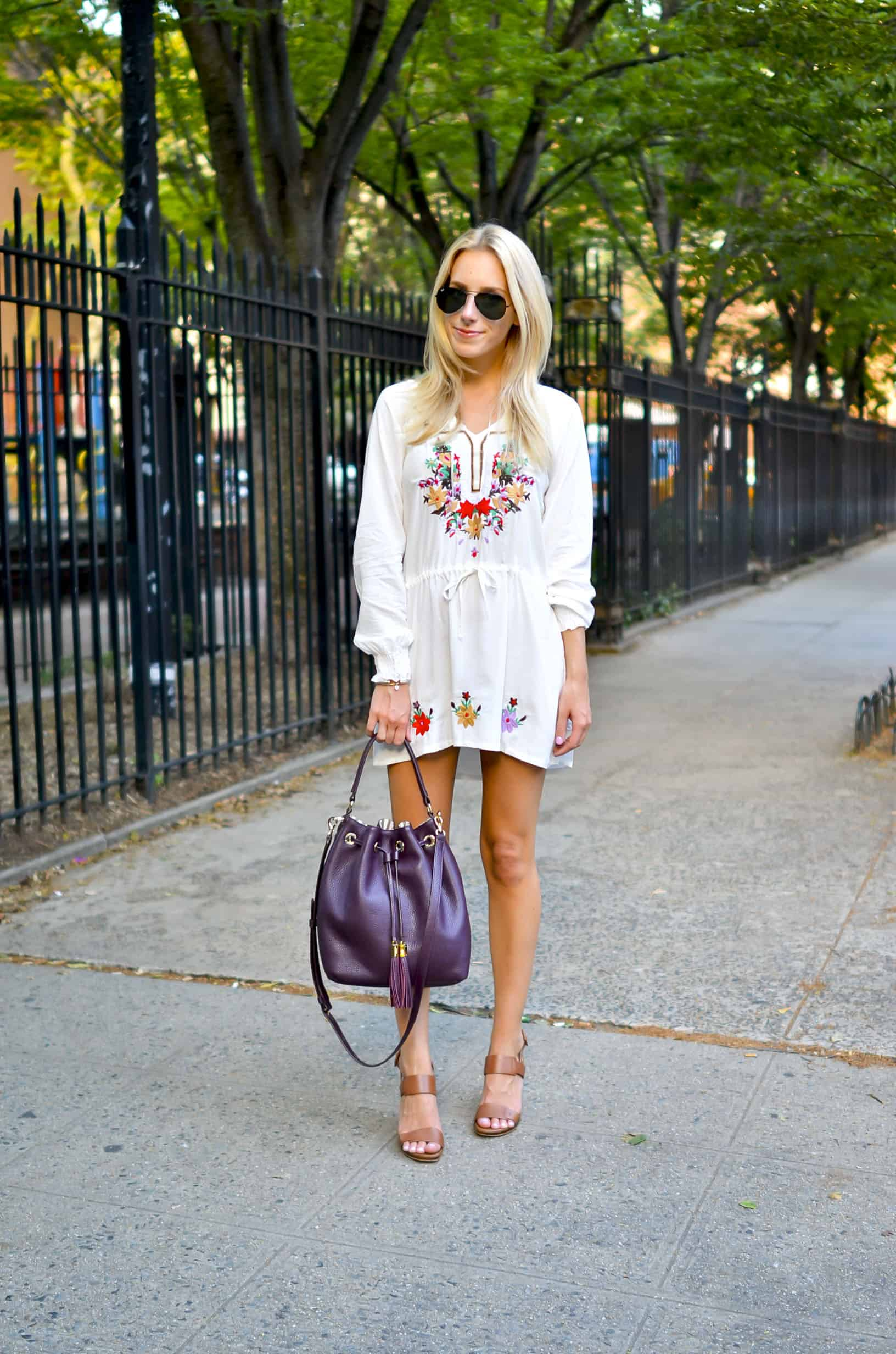Chic Wish Embroidered Tunic
