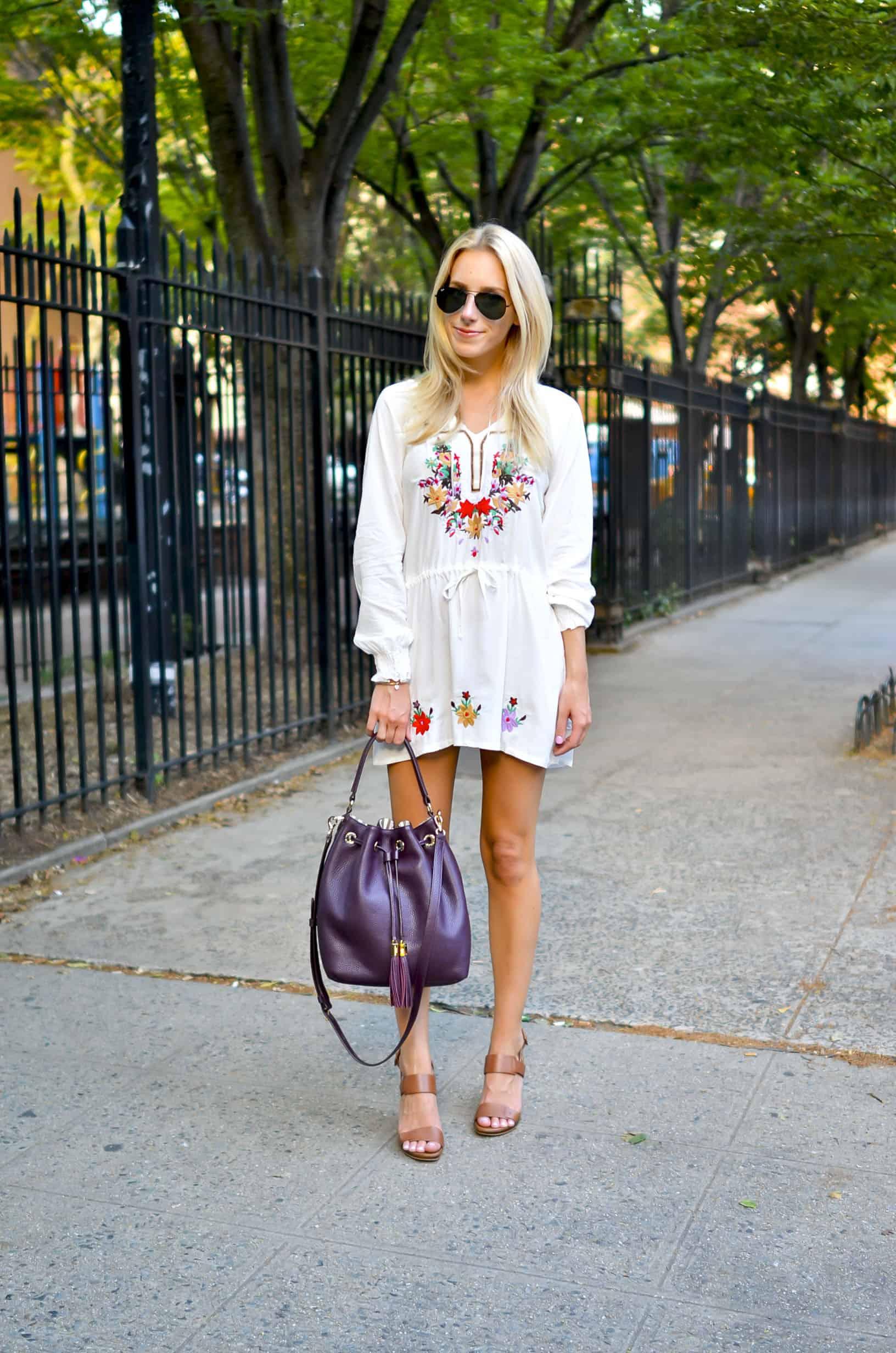 Chic Wish Embroidered Tunic