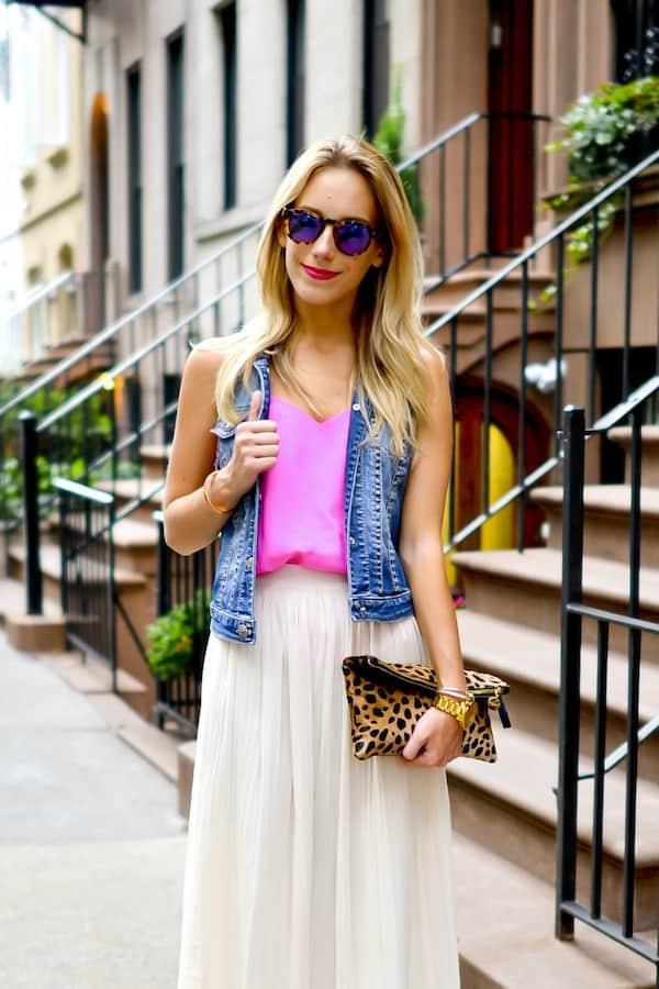 Illesteva Pink Mirrored Sunglasses
