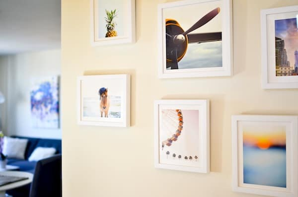 Katie's Bliss Gallery Wall