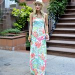 Lilly Pulitzer Floral Maxi Dress