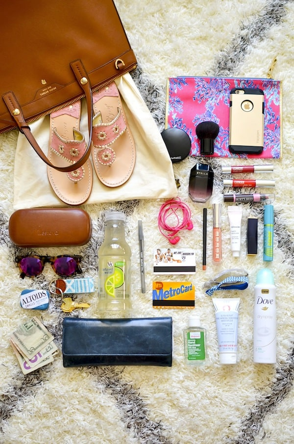 What's in my bag - Katie's Bliss