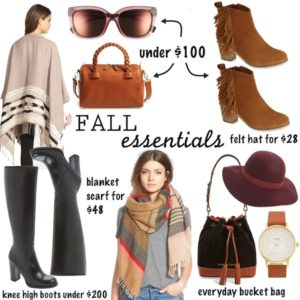 Affordable Fall Accessories