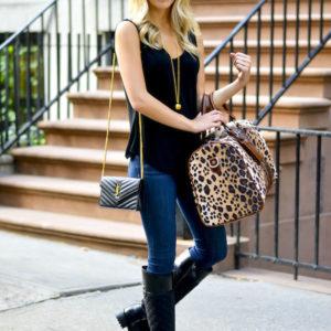 Barrington Gifts Leopard Duffle Bag