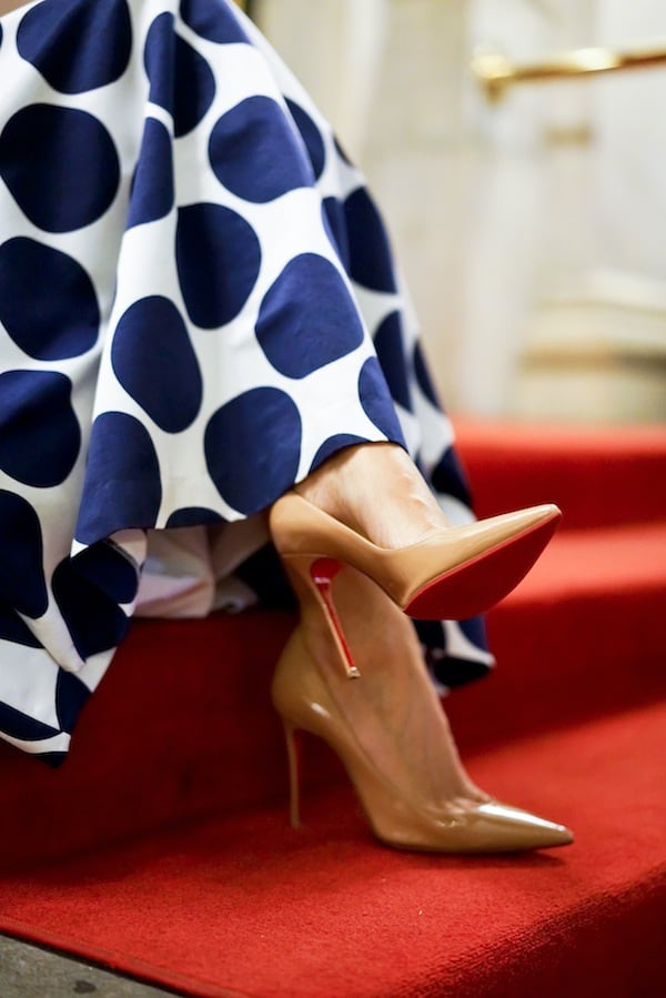 Christian Louboutin Nude Pigalle Pumps