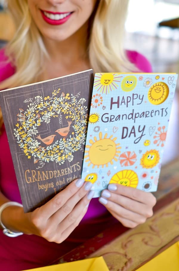 Celebrating Grandparent's Day with Hallmark and Walgreens