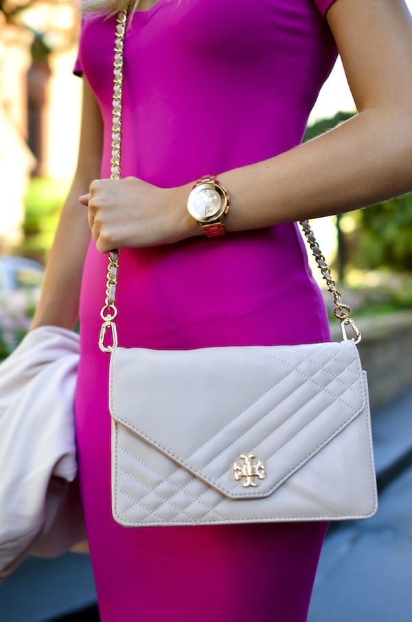 Tory Burch Quilted Crossbody Bag