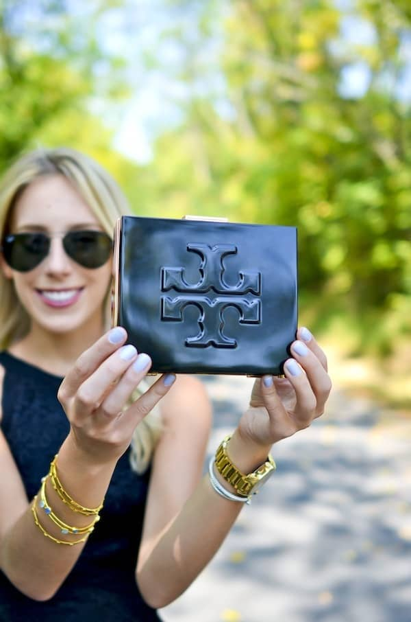 Tory Burch Square Clutch