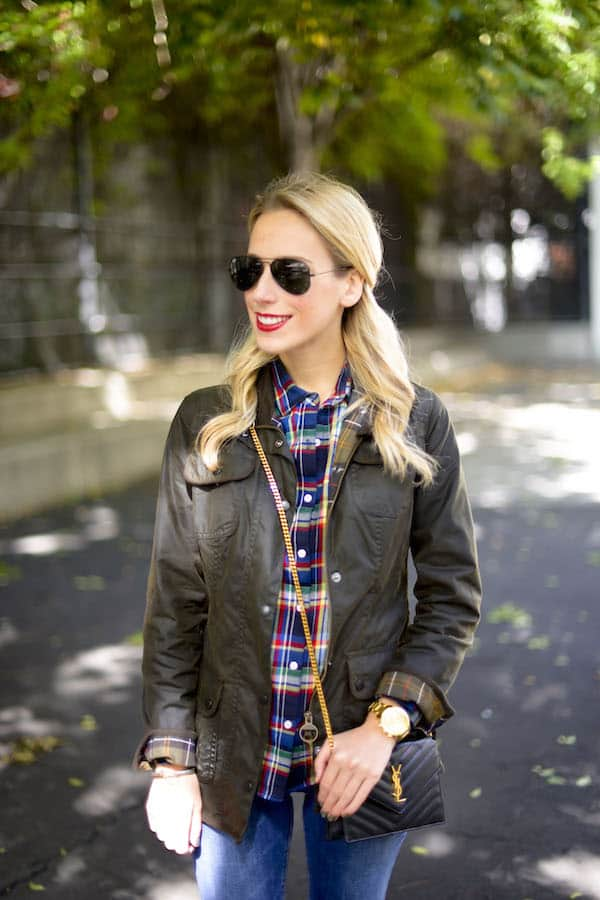 Barbour Womens Waxed Utility Jacket Katie S Bliss