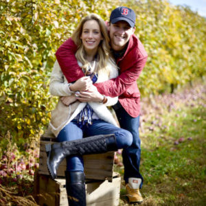 His & Hers Apple Picking