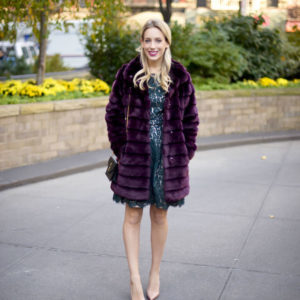 Eliza J Faux Fur Coat