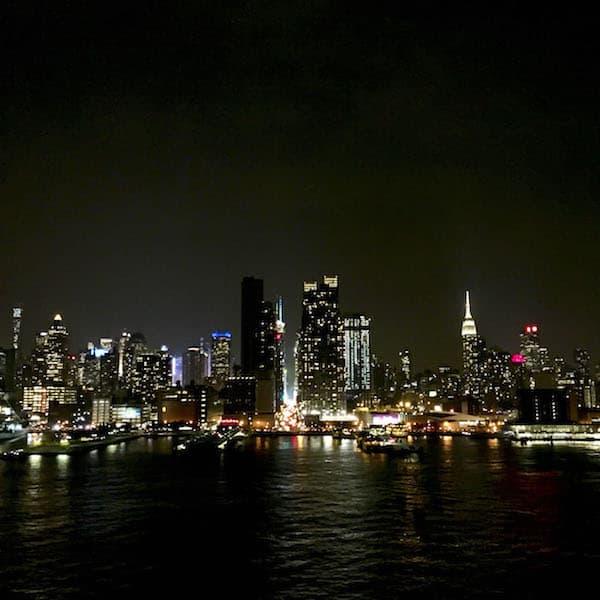 New York City Skyline Hudson River