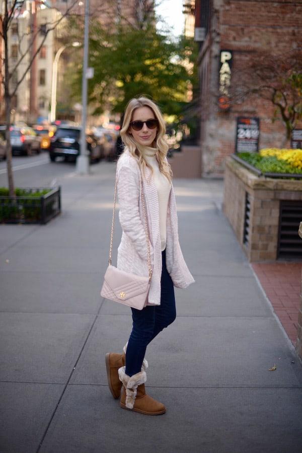 Pale Pink Cardigan