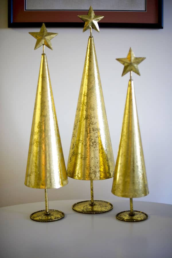 3 Piece Star Christmas Tree Set