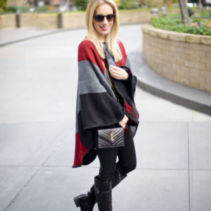 Chic Wish Blanket Cape