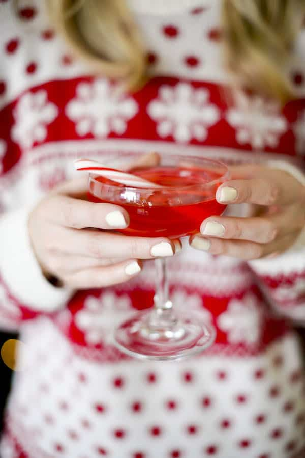 Easy Peppermint Cosmo Recipe Using Absolut Vodka