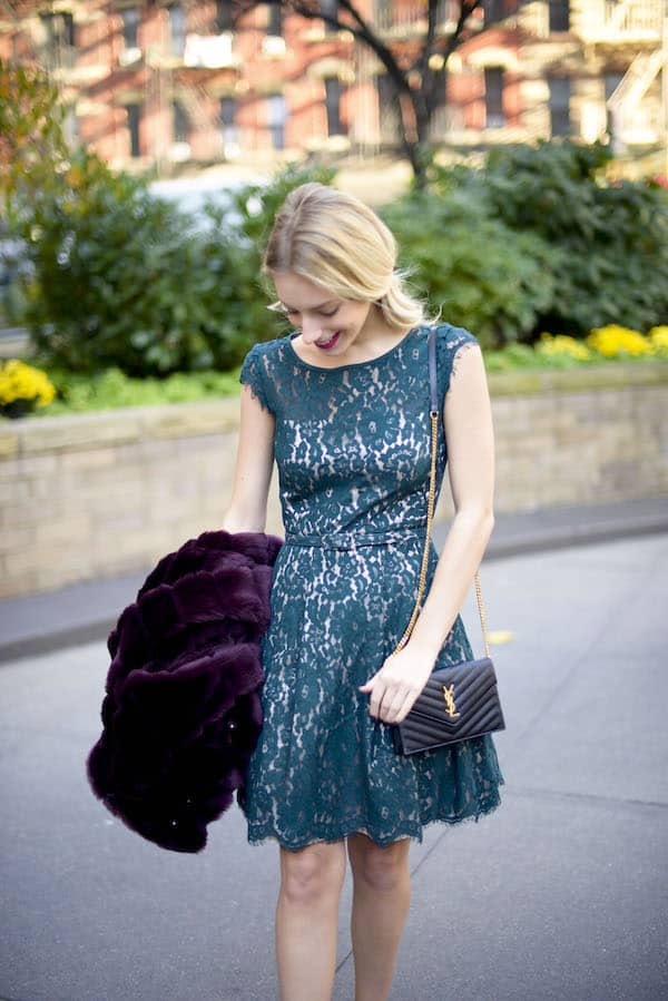 Eliza J Lace Party Dress