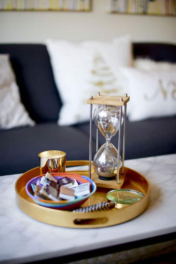 Hourglass Decor