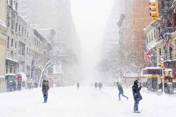 Winter Storm Jonas - New York City Blizzard 2016 | Katie's
