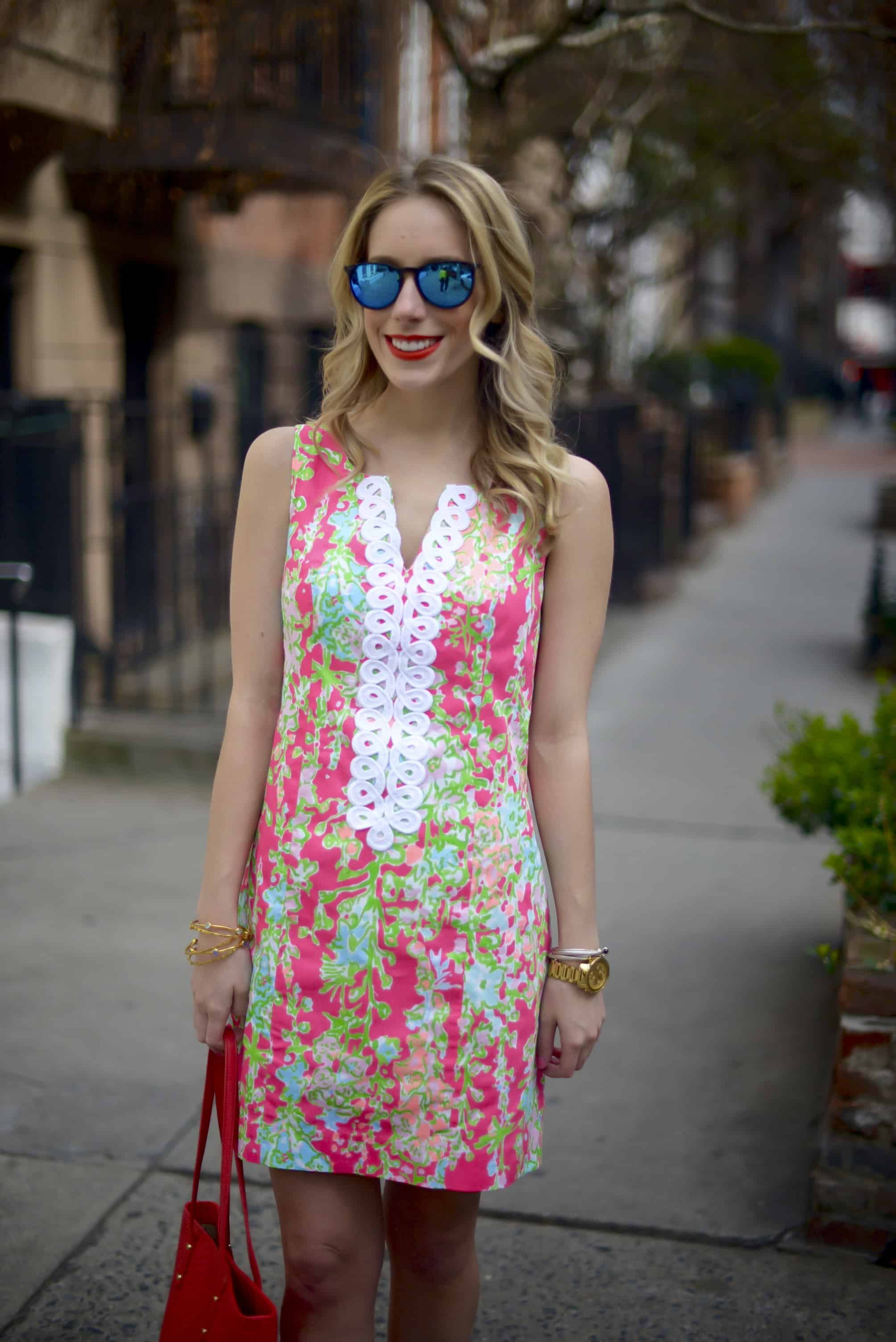 Lilly Pulitzer Cathy Shift Dress in Southern Charm