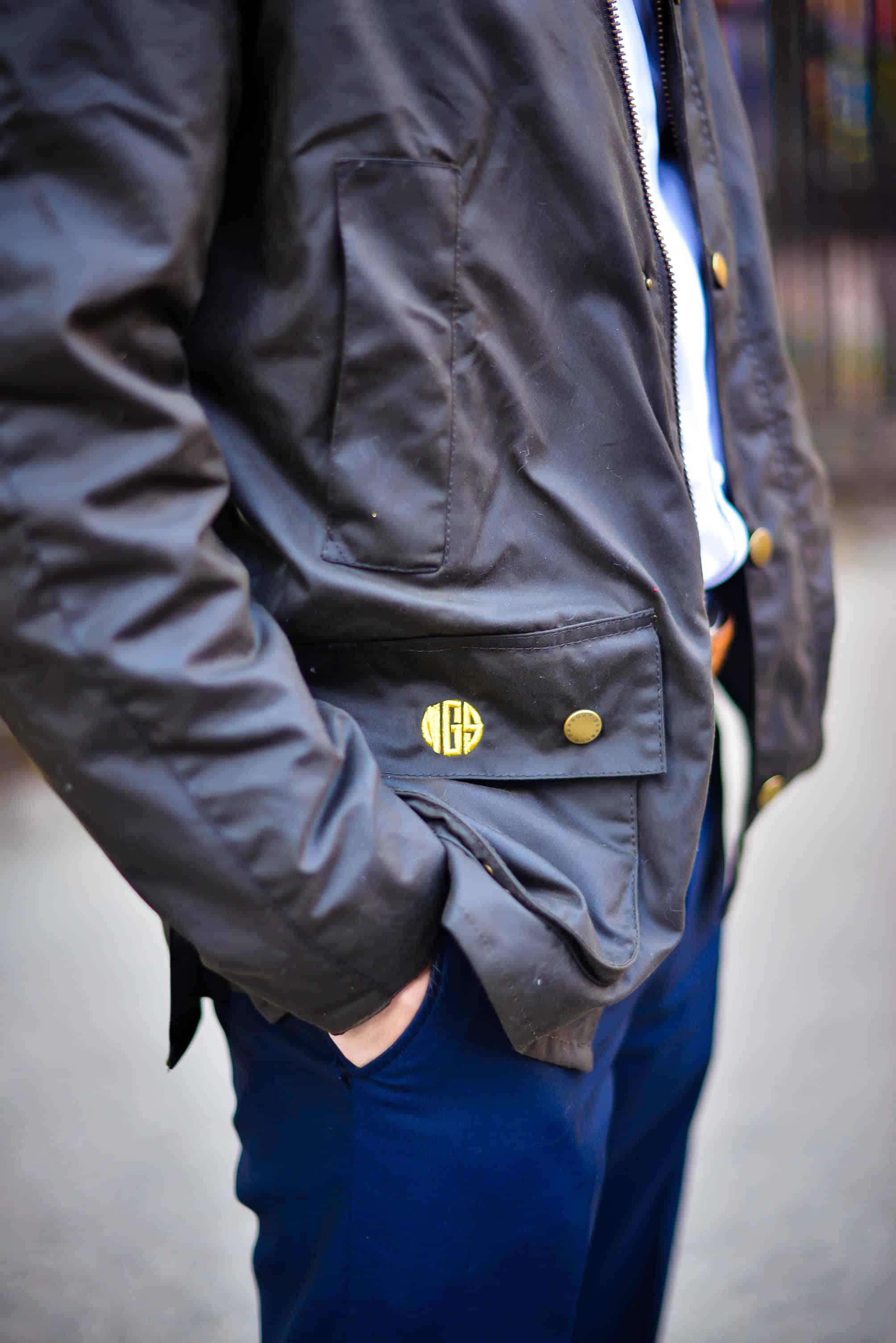 Barbour Monogram Coat