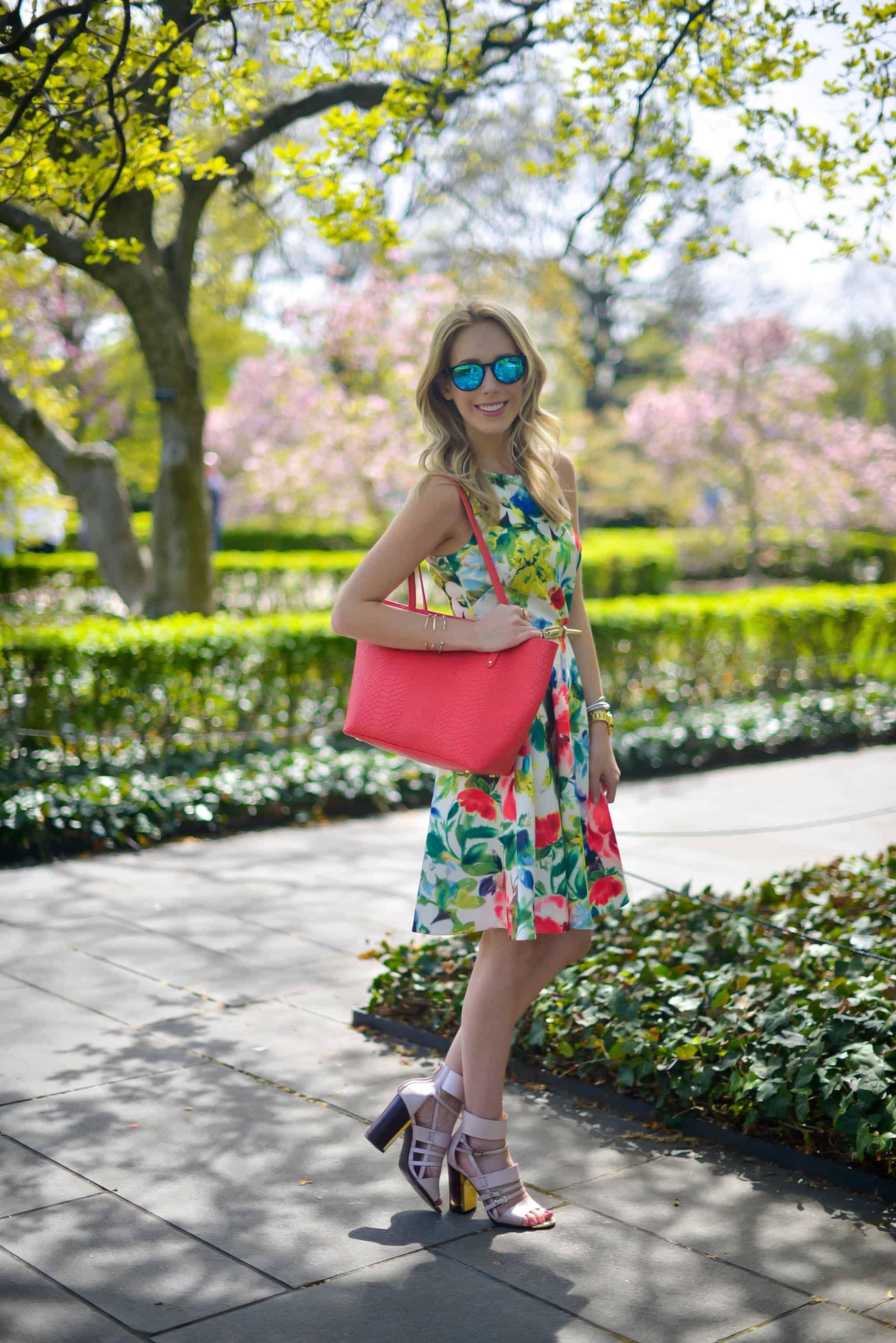 Eliza J Floral Dress