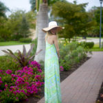 Lilly Isla V-Neck Maxi Dress