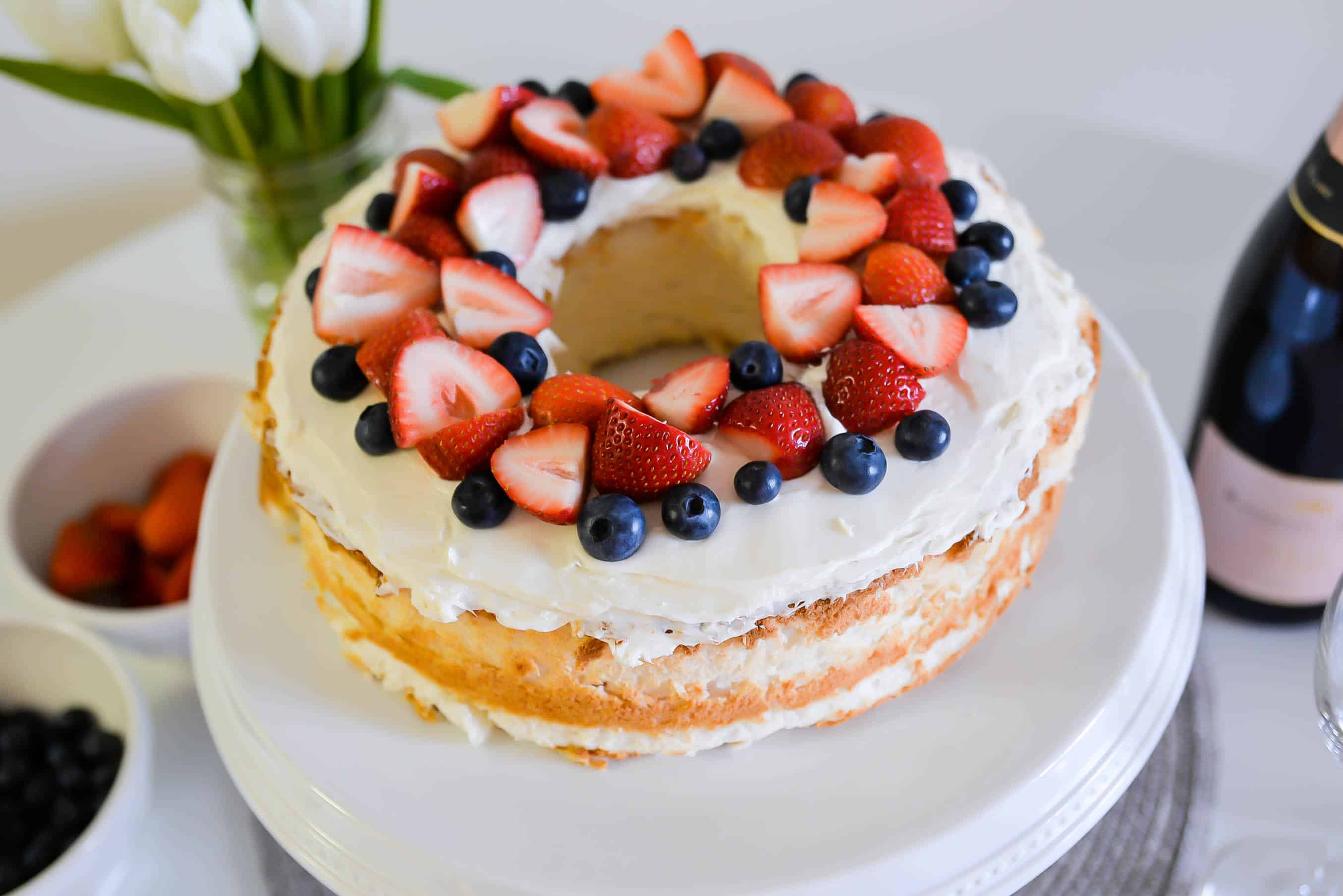 I Can Bake Easy Angel Food Cake Recipe Katie S Bliss