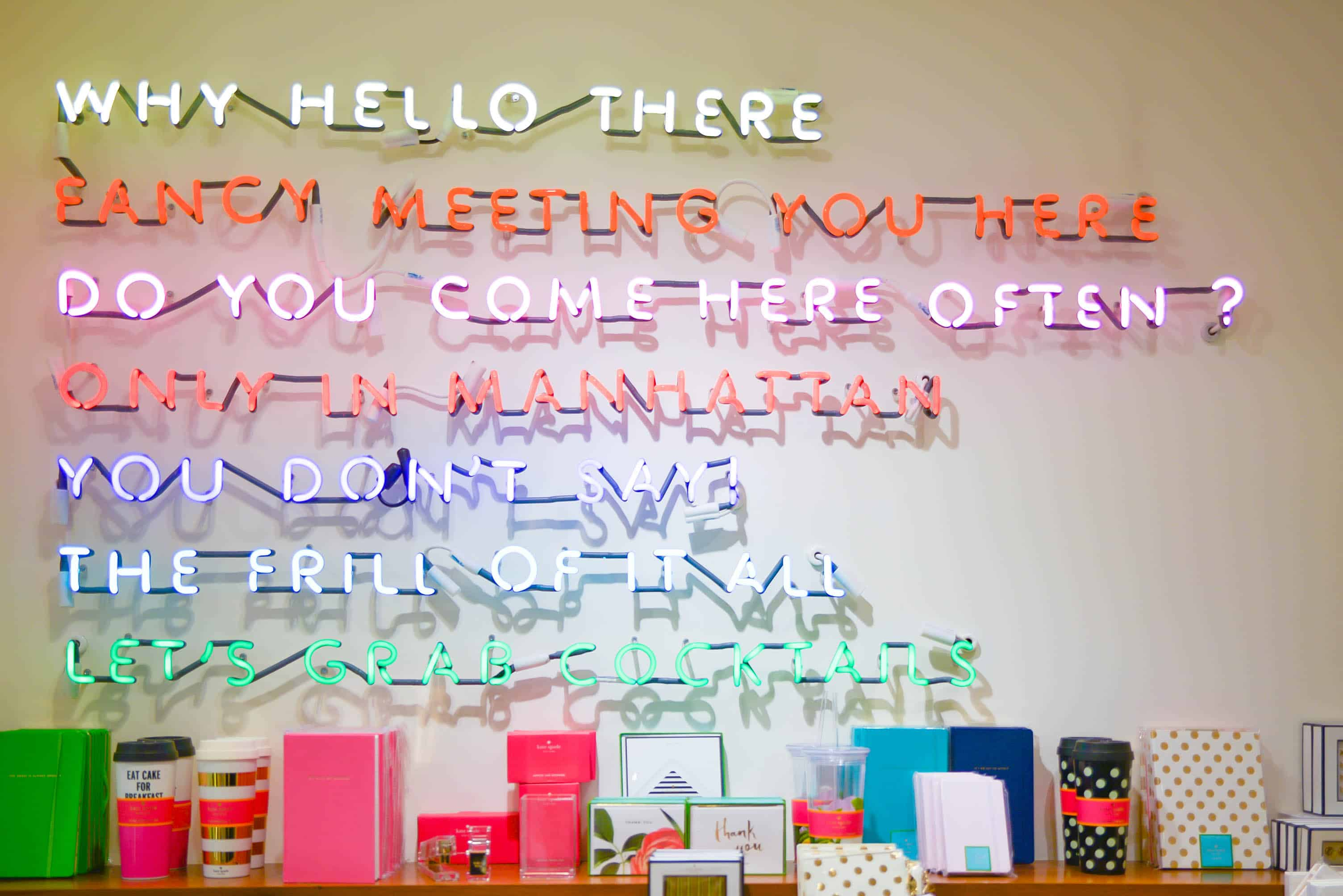 Kate Spade Madison Avenue Flagship Store