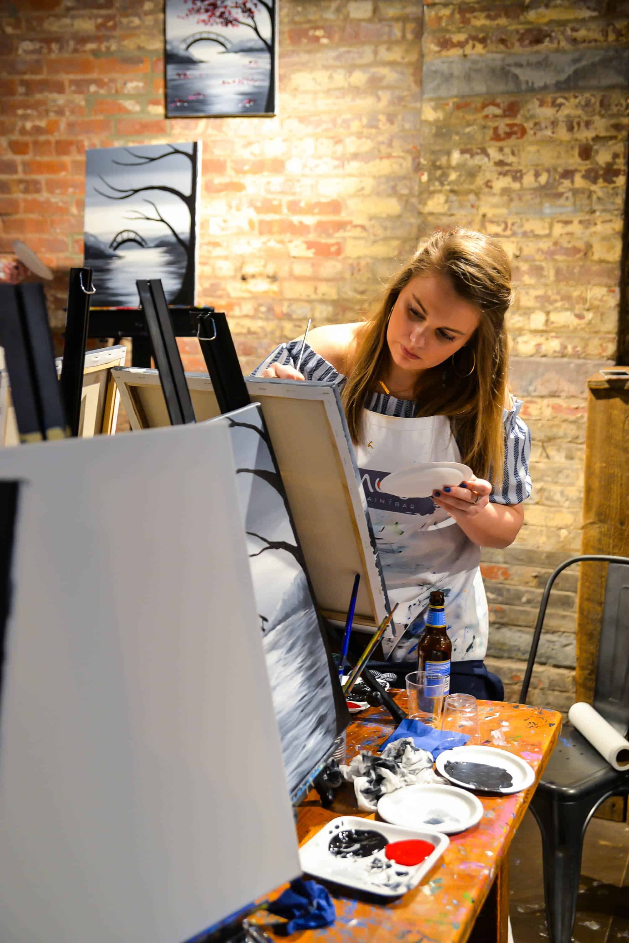 Say Yes To Painting And Drinking Muse Paintbar Tribeca
