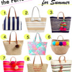 Straw Beach Totes Summer 2016
